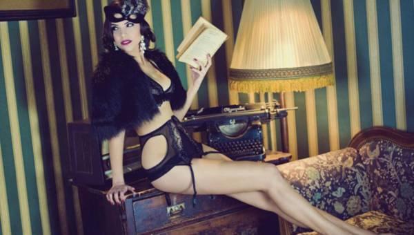 Axami w stylu eleganckich lat 20!