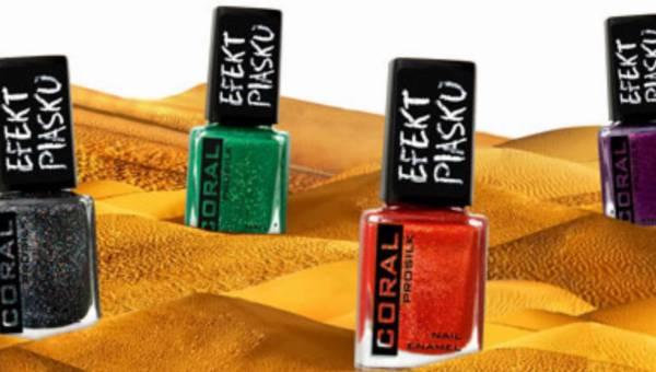 Efekt piasku na paznokciach! NOWOŚĆ – linia strukturalnych lakierów do paznokci Delia Coral