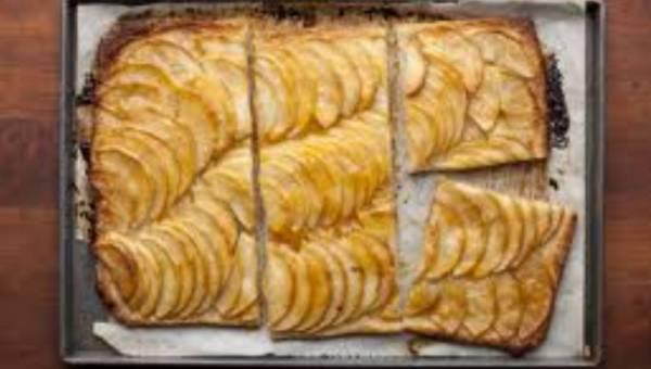 "Francuska tarta jabłkowa wg Iny Garten z programu ""Bosonoga Contessa"""