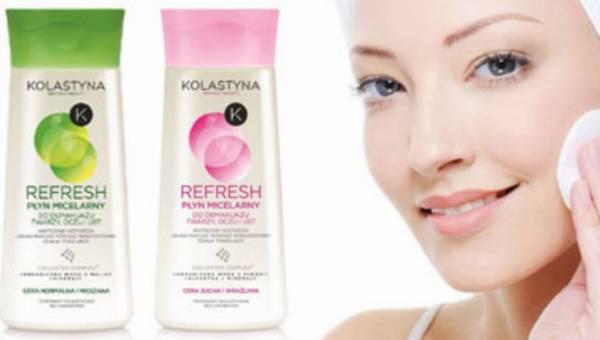 Kolastyna Refresh – nowe Płyny micelarne do demakijażu