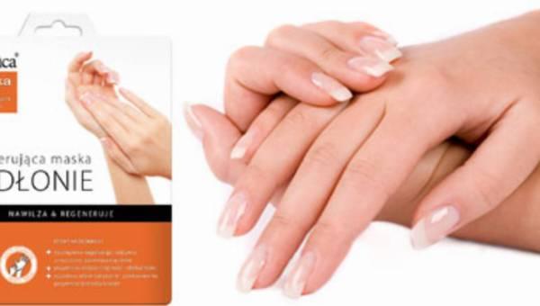 L'biotica Maska NA DŁONIE w postaci nasączonych rękawiczek