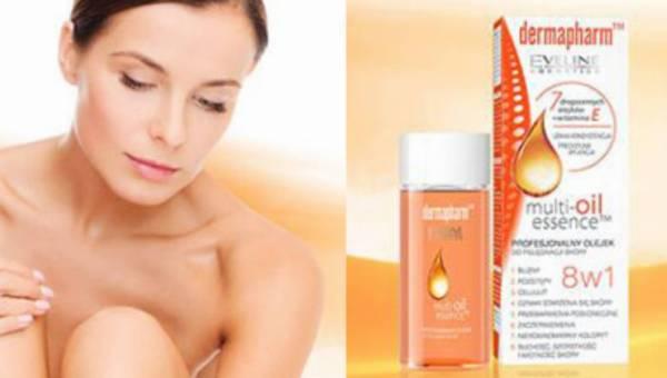 Dermapharm Multi-oil essence 8 w 1 – profesjonalny olejek do pielęgnacji skóry