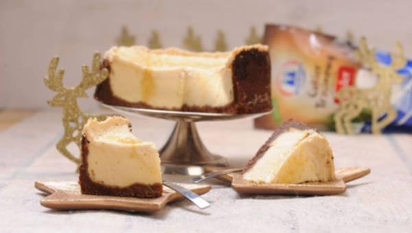 Szybki przepis na sernik z polewą jogurtowo-trzcinową