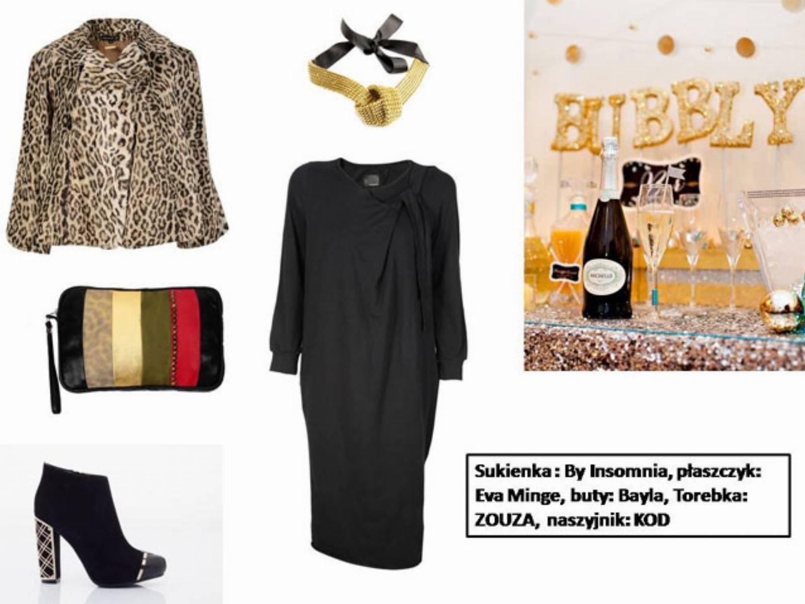 Sylwester 2013 - stylizacja mala czarna (1)