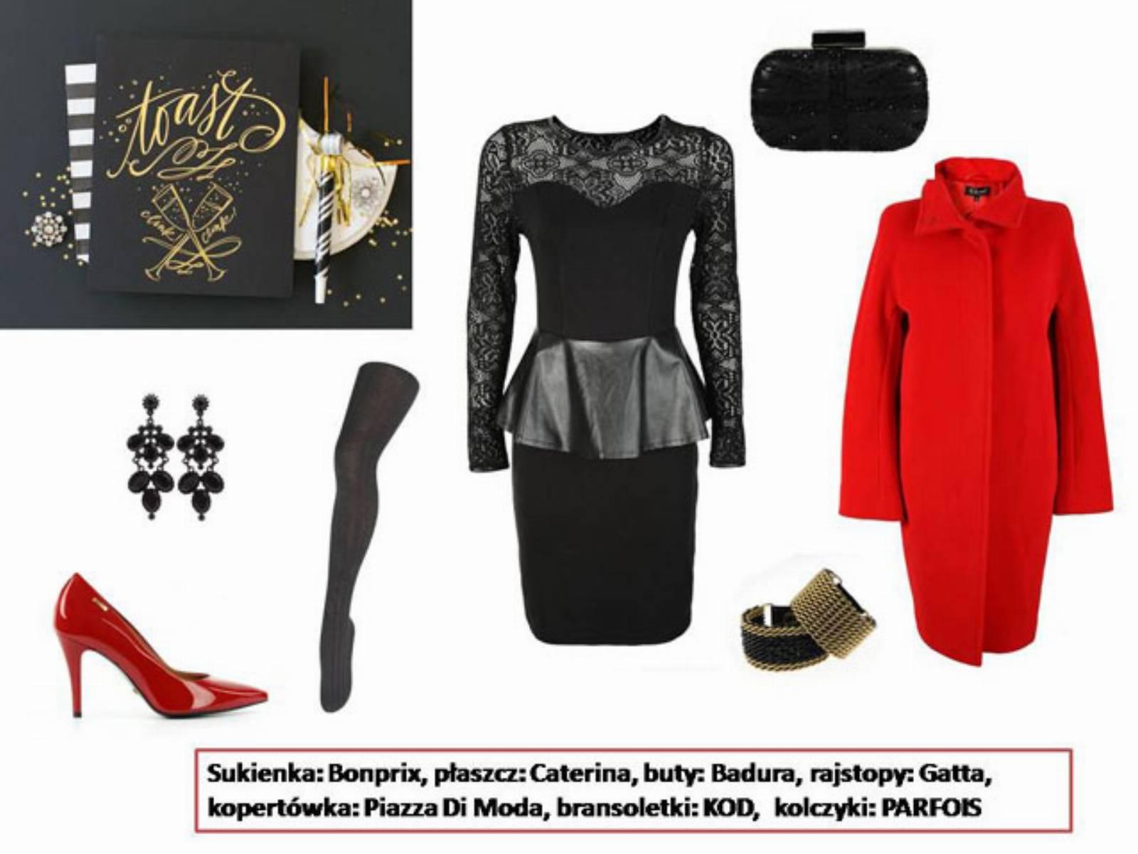 Sylwester 2013 - stylizacja mala czarna (2)