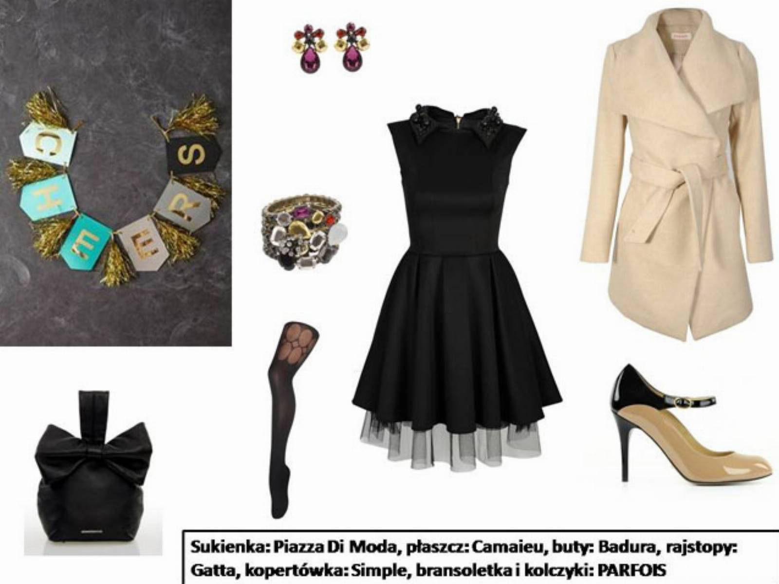 Sylwester 2013 - stylizacja mala czarna (4)