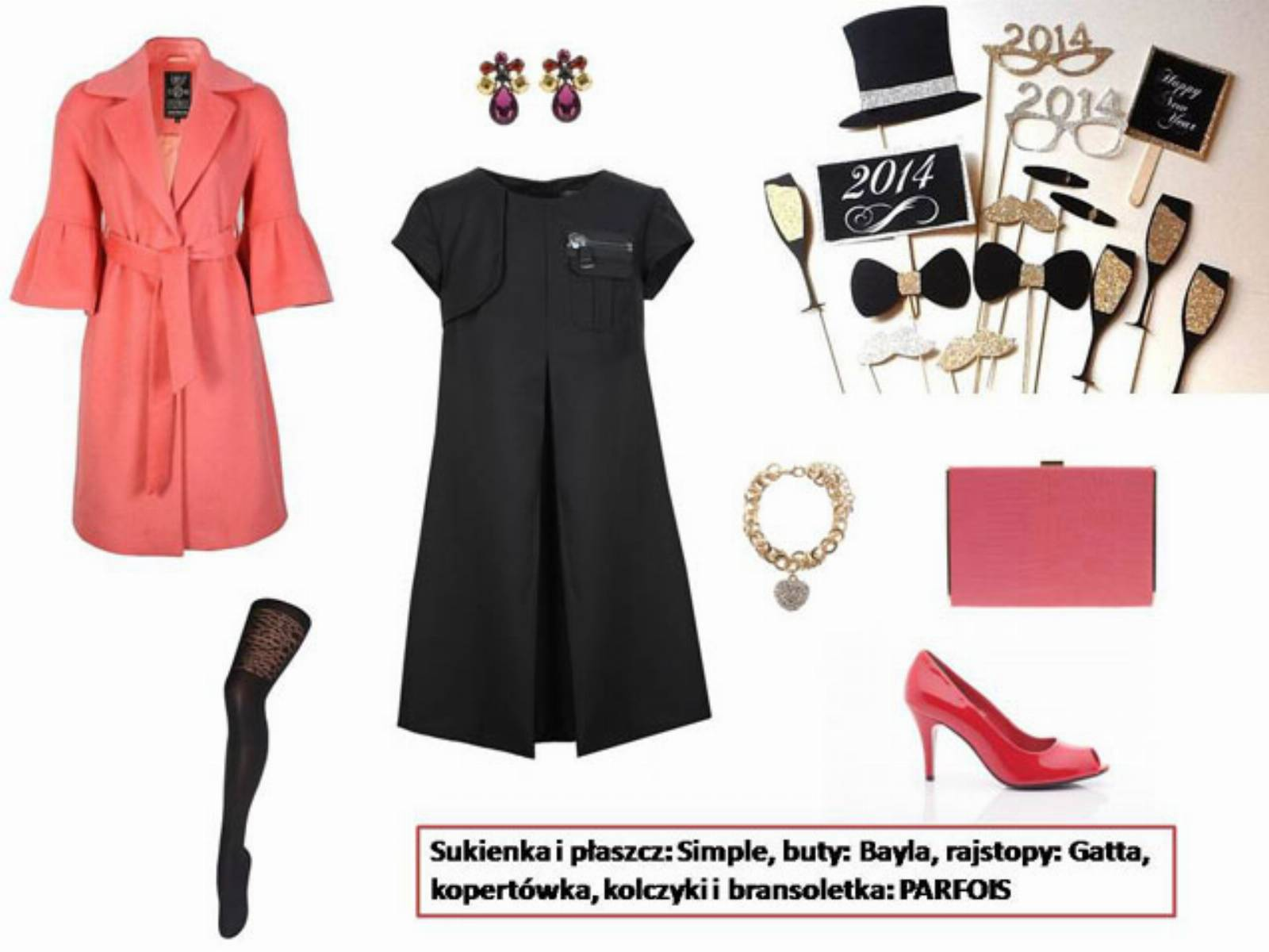 Sylwester 2013 - stylizacja mala czarna (5)