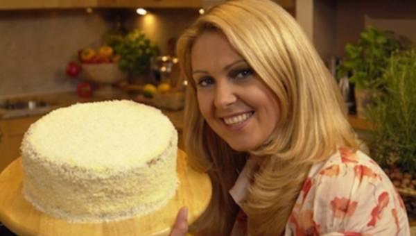 Tort czekoladowo – kokosowy wg przepisu Ewy Wachowicz