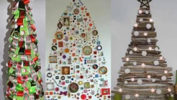 33 pomysły na choinki i dekoracje świąteczne – zrób to sama (DIY)