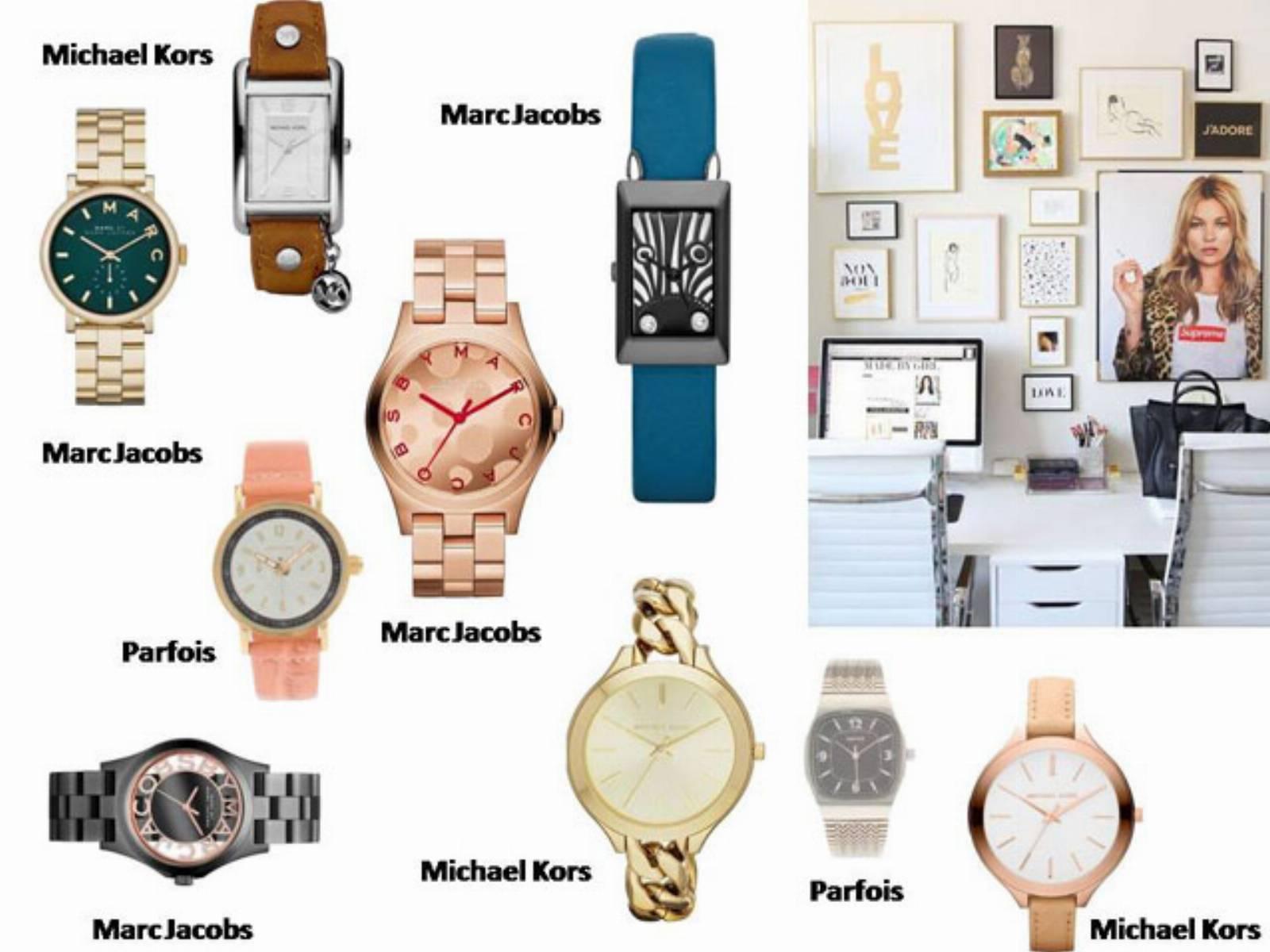 Dodatki do stroju biurowego - zegarki