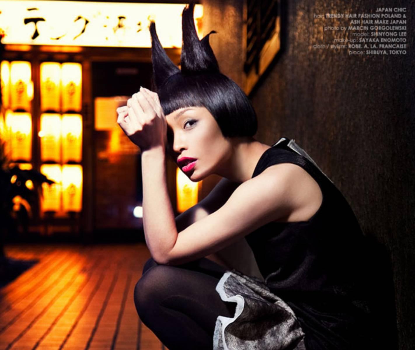 Japan Chic Trendy Hair Fashion (1)