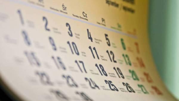 Kalendarz smakowitych świąt