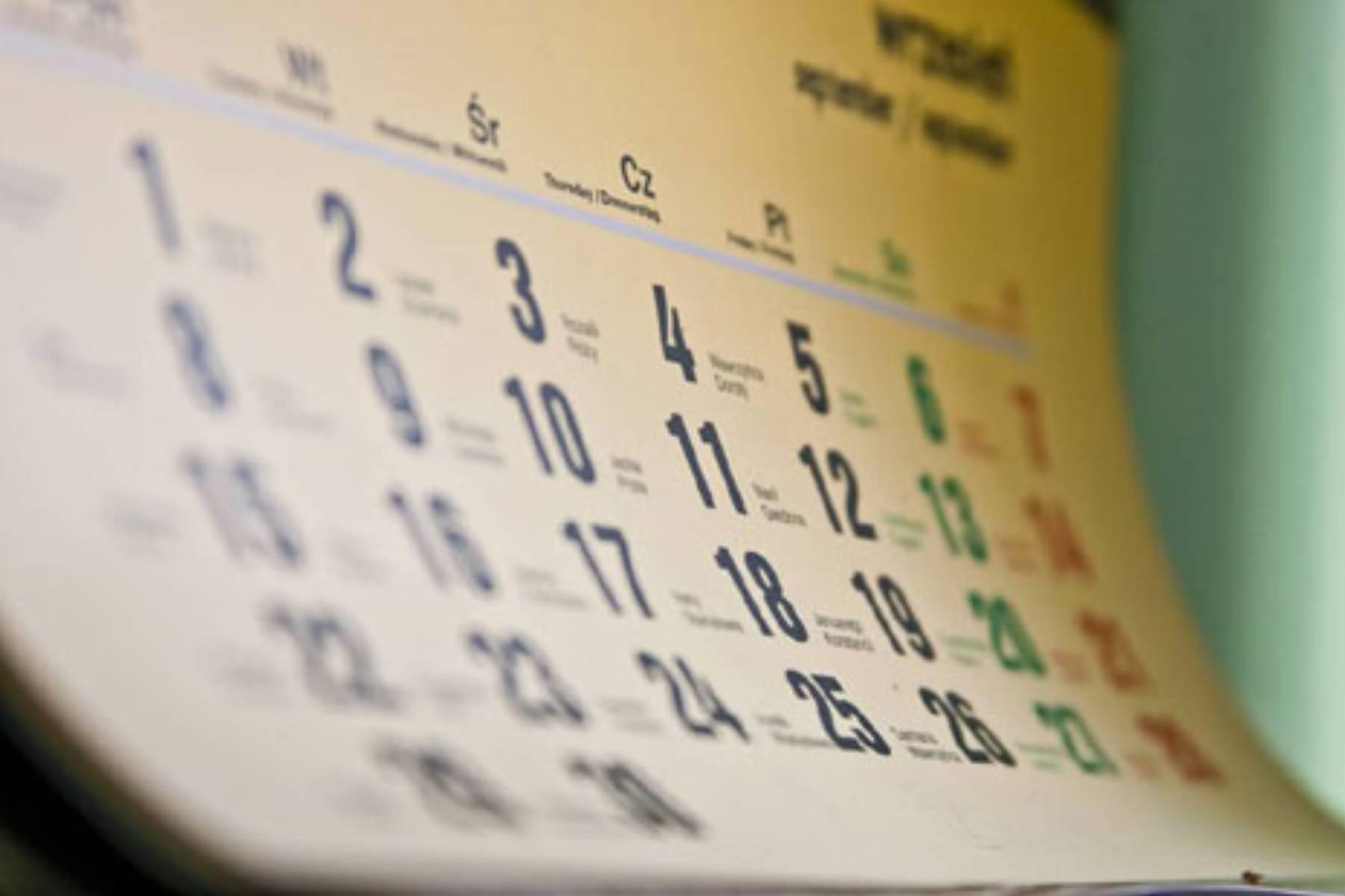 Kalendarz smakowitych swiat