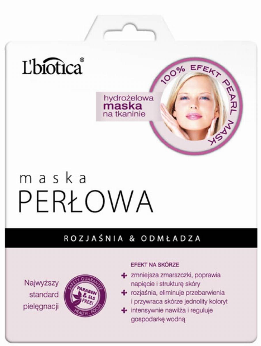 Perlowa maska L'biotica
