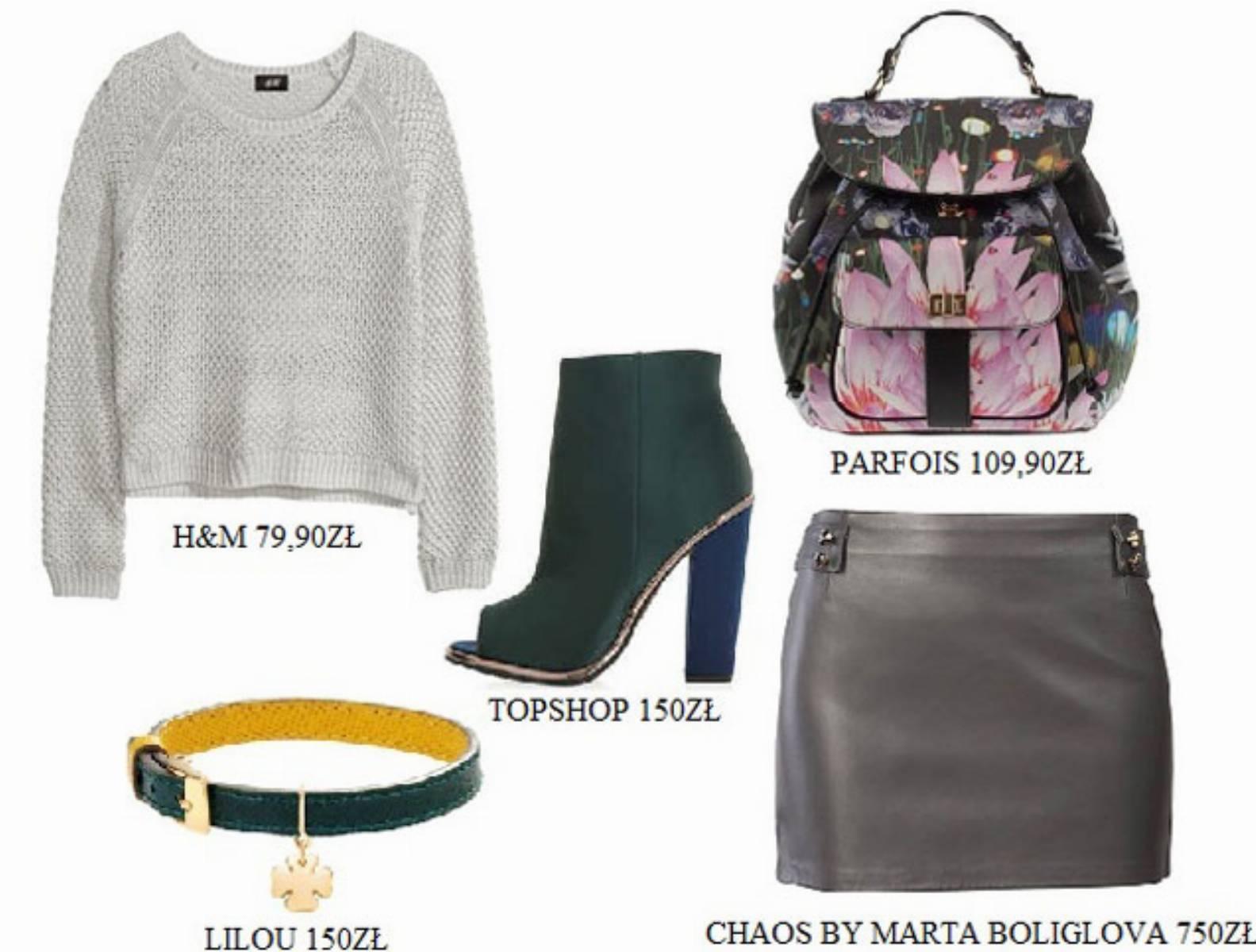 Skorzana spodnica - stylizacja (4)