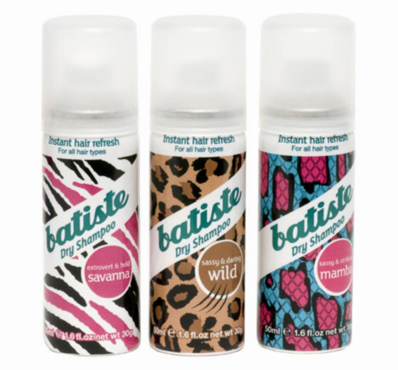 Suche szampony Batiste