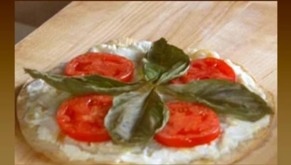 Lisa Lillian: Chrupiąca biała pizza