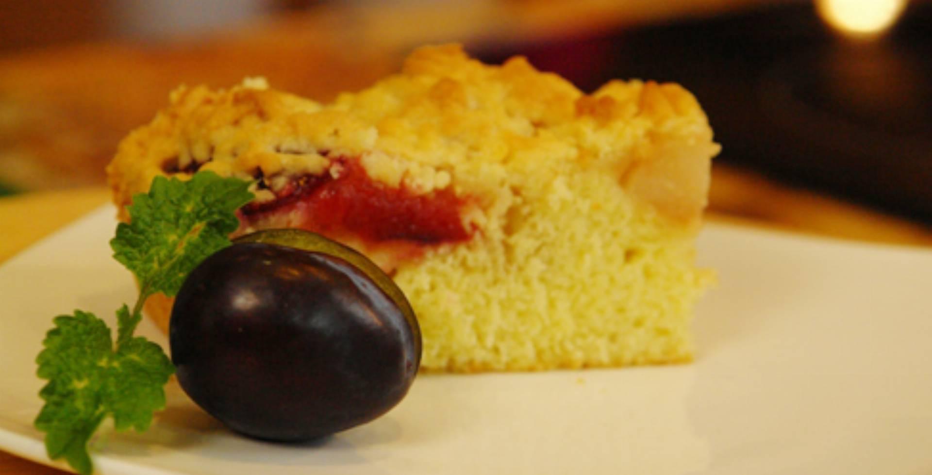 Ciasto śliwkowo Gruszkowe