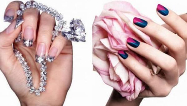 Modne wzorki na paznokcie – propozycje na wieczorowy mani