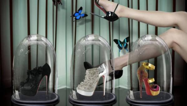 Buciki współczesnego Kopciuszka – buty Christiana Louboutina