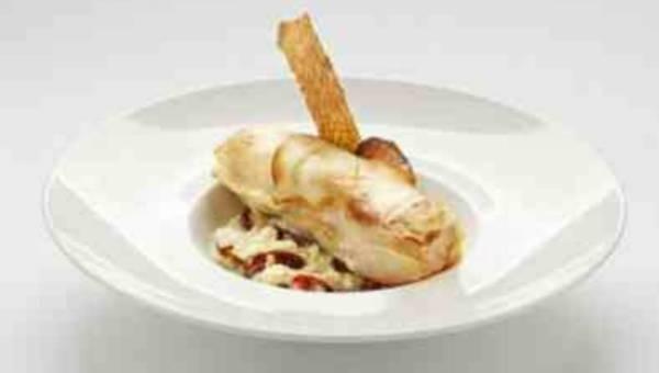 Przepis na: Pieczony łosoś z musztardą z Cremony