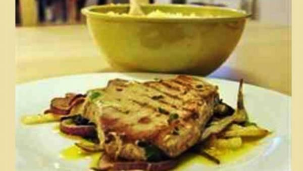 Przepis na: Pieczony tuńczyk po sycylijsku