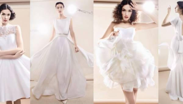 RINA COSSACK – minimialistyczne suknie ślubne w kolekcji Wedding 2014