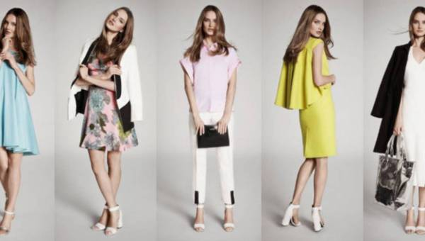 Wiosenno-letni lookbook marki Simple CP