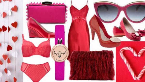 Walentynkowe inspiracje – bielizna i dodatki w kolorze czerwonym