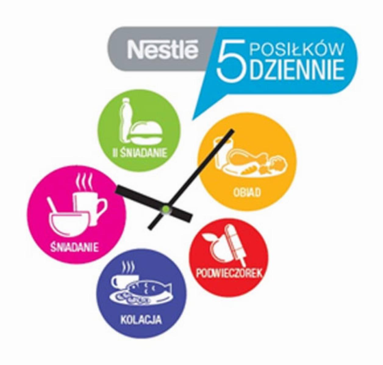 Zegar Nestle