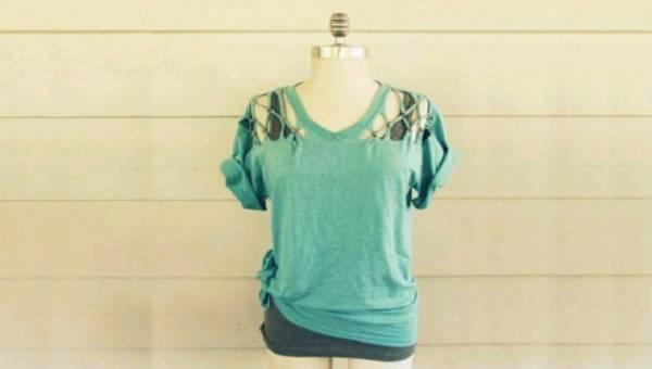 Zrób to sama (DIY): rockowa koszulka z pazurem ze starego T-shirta