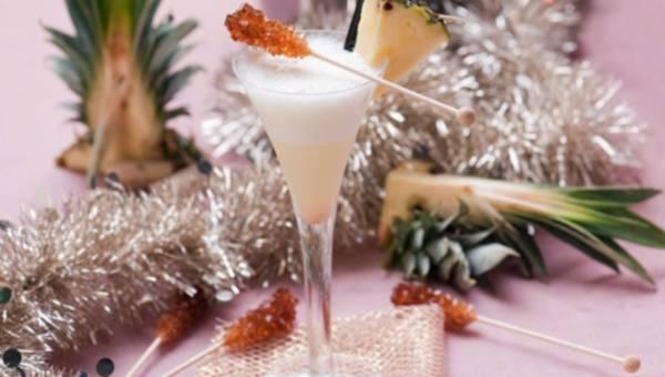 Karnawałowy egzotyczny drink