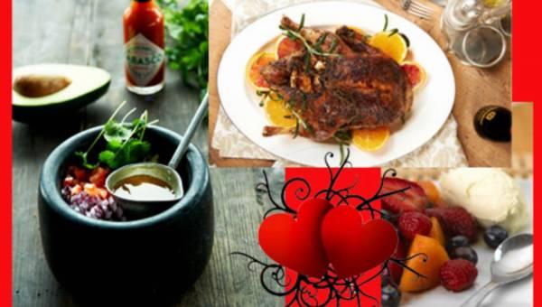 Walentynkowa kolacja z pomysłem