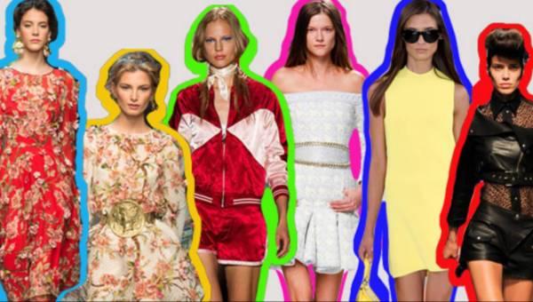 Moda wiosna lato 2014 – głowne trendy – ponad 100 zdjęć (cz.1)
