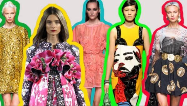Moda wiosna lato 2014 – głowne trendy – ponad 120 zdjęć (cz.2)