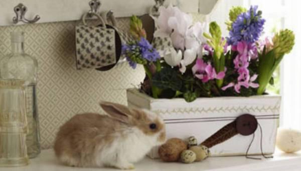 Zrób to sama – DIY: Urocza skrzynka na wiosenne kwiaty w stylu shabby chick