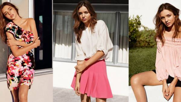 Wiosenna kolekcja H&M z Mirandą Kerr