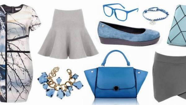 W duecie – stylizacje w odcieniach szarości i niebieskiego