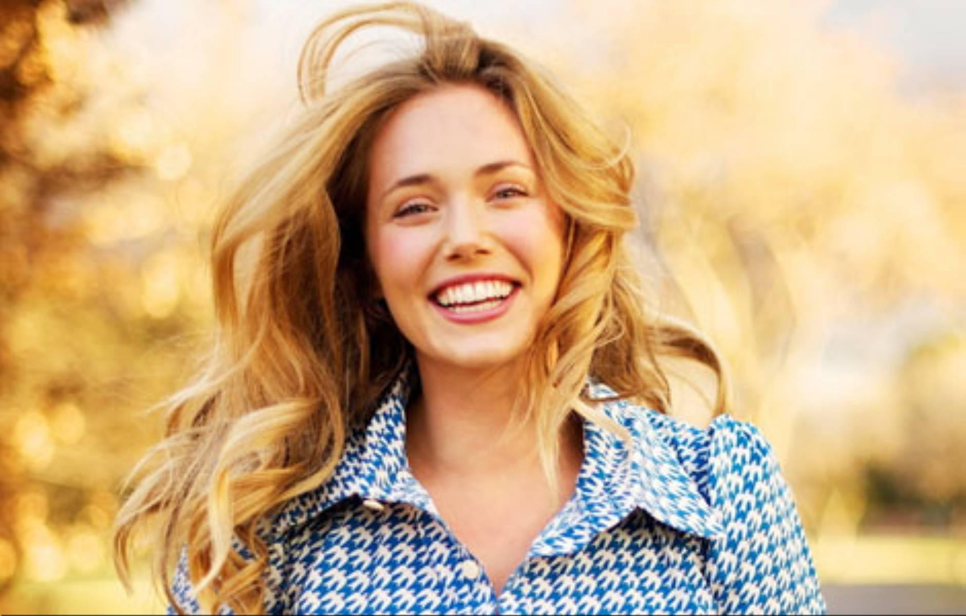 Usmiechnieta kobieta