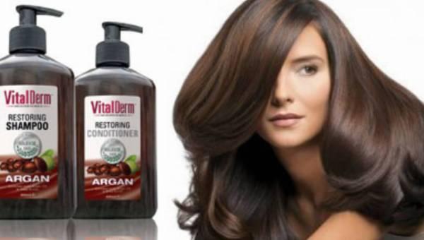 Arganowa moc dla czystych, zdrowych, lśniących włosów! Pielęgnacja włosów z linią Vital Derm