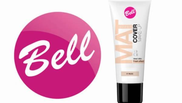 Nowość od marki Bell: Fluid SUPER MAT PERFECT COVER – makijaż bez poprawek