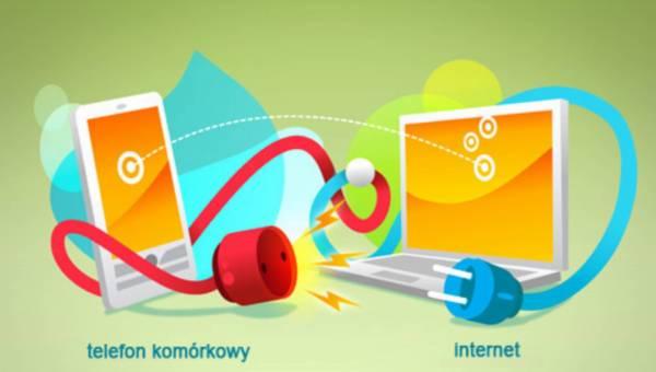 Jak skonfigurować Internet w telefonie?