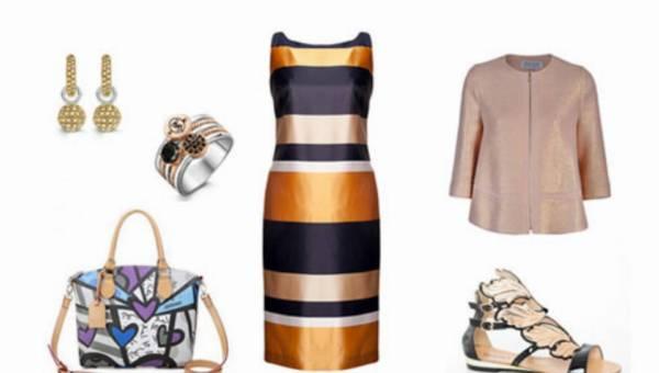 Jak nosić sukienki we wzory
