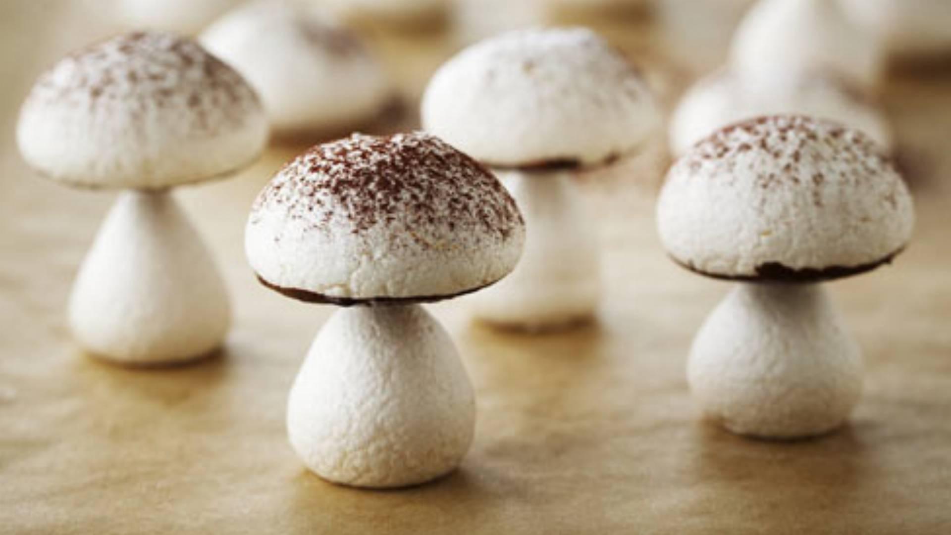 Mushroom Shaped Cake Recipe