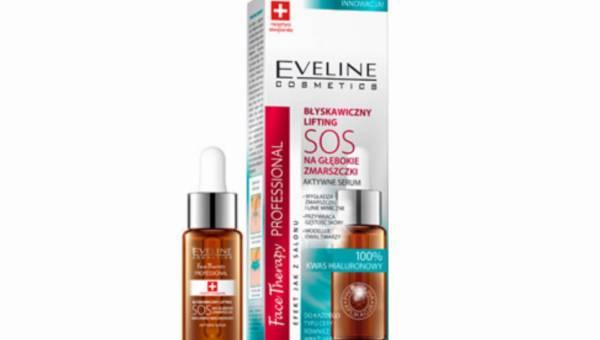 Nowości kosmetyczne: BŁYSKAWICZNY LIFTING SOS NA GŁĘBOKIE ZMARSZCZKI od Eveline Cosmetics