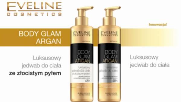 Nowość od Eveline Cosmetics: linia BODY GLAM ARGAN – Luksusowy jedwab do ciała