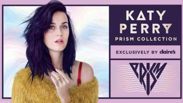 """Marka Claire's prezentuje nową eksluzywną kolekcję """"PRISM"""" zaprojektowaną przez Katy Perry!"""