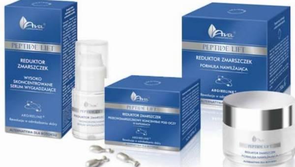 Nowość na rynku: PEPTIDE LIFT – innowacyjne kosmetyki z Laboratorium Kosmetycznym AVA walczą z oznakami starzenia skóry