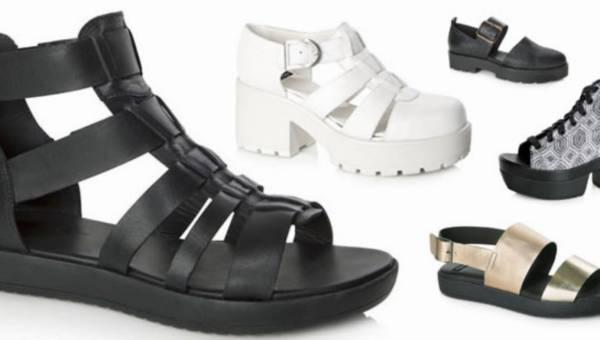 Vagabond –  modne platformy i sandały na wiosnę-lato 2014