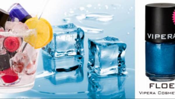 NOWOŚĆ: VIPERA COSMETICS – strukturalne lakiery FLOE o strukturze kruszonego lodu